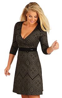 Damen Kleid mit 3/4 Ärmeln. LITEX