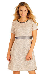 Dresses and Skirts LITEX > Women´s dress with short sleeves.