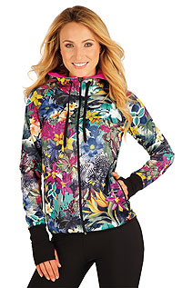 Vests and jackets LITEX > Women´s hoodie jacket.