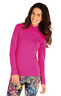 Hoodies, turtlenecks LITEX > Women´s  turtleneck with long sleeves.
