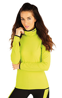 Jogging LITEX > Women´s  turtleneck with long sleeves.