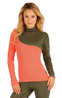 Thermal underwear LITEX > Women´s thermal turtleneck shirt with long sleeves.
