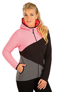 Vests and jackets LITEX > Women´s fleece hoodie jacket.