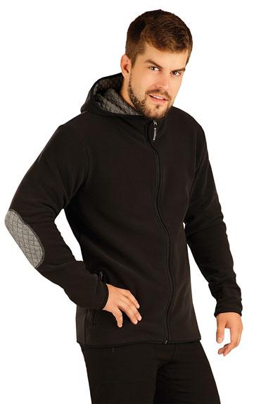 Fleecová mikina pánska s kapucňou. | Pánske oblečenie LITEX