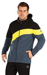 Pánske oblečenie LITEX > Fleecová mikina pánska s kapucňou.