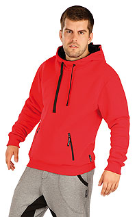 Sportbekleidung LITEX > Herren Sweatshirt mit Kapuzen.
