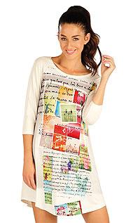 Nightwear LITEX > Women´s nightdress with 3/4 length sleeves.