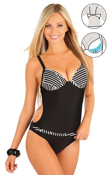 Jednodílné plavky s košíčky. | Jednodílné plavky LITEX