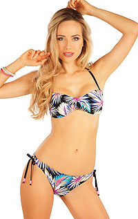 Dvoudílné plavky LITEX > Plavky podprsenka BANDEAU s košíčky.