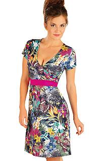 Strandmode LITEX > Damen Kleid kurzarm.