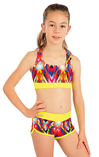 Girls swimwear LITEX > Girl´s sport bikini top.