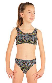 Dívčí plavky LITEX > Dívčí plavky kalhotky středně vysoké.