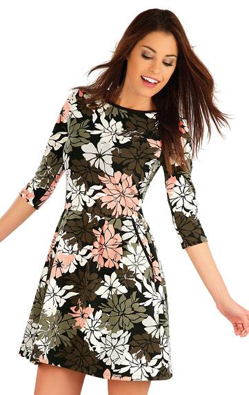 Šaty dámské s 3/4 rukávem.   Sportovní oblečení LITEX