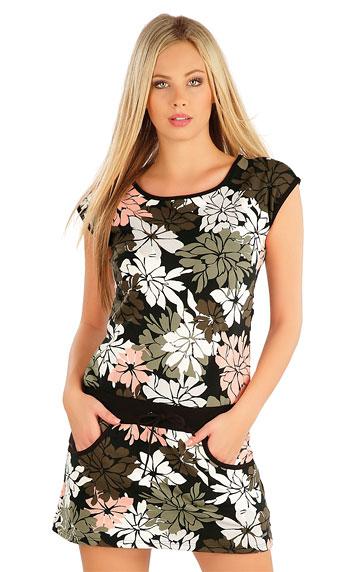 Šaty dámské se spadlým rukávem. | Šaty a sukně LITEX