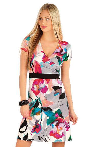 Šaty dámské s krátkým rukávem. | Šaty a sukně LITEX