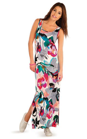 Šaty dámské dlouhé bez rukávu. | Šaty a sukně LITEX