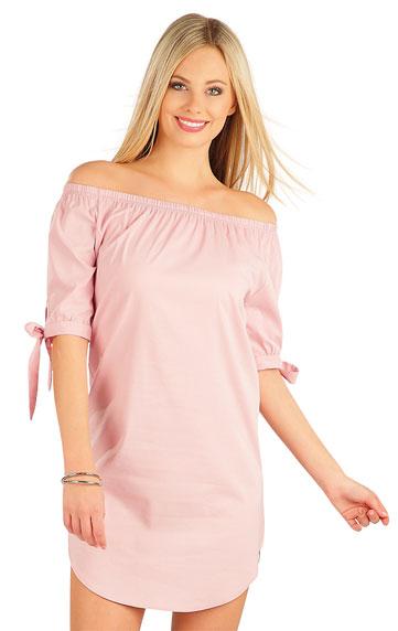 Šaty dámské s krátkým rukávem.   Šaty a sukně LITEX