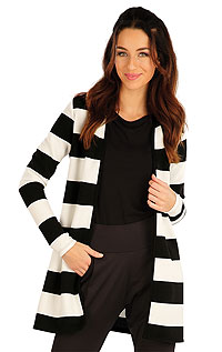 Cardigan with long sleeves. LITEX
