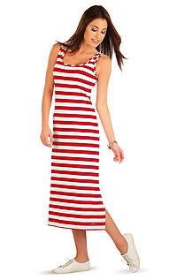 Damen lang Kleid ohne Ärmel. LITEX