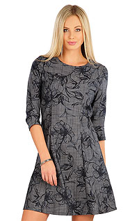 Dresses and Skirts LITEX > Women´s dress with 3/4 length sleeves.