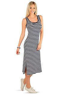 Woman´s long sleeveless dress. LITEX