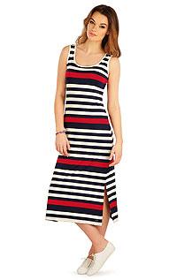 Kleider, Röcke, Tuniken LITEX > Damen lang Kleid ohne Ärmel.