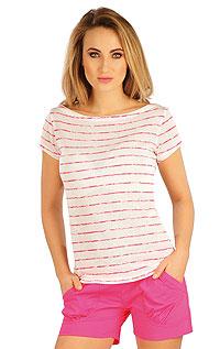Tílka, trička, halenky LITEX > Tričko dámské s krátkým rukávem.