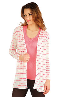 Vests and jackets LITEX > Women´s cardigan with long sleeves.