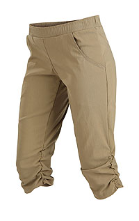 Leggings, trousers, shorts LITEX > Women´s low waist 3/4 length trousers.