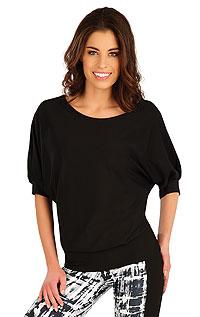 Tops, T-shirts, Sport Bhs LITEX > Damen T-Shirt, mit 3/4 Ärmeln.