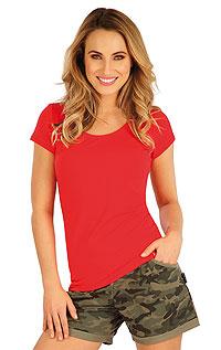 Litex Tričko dámské s krátkým rukávem. - vel. XL červená