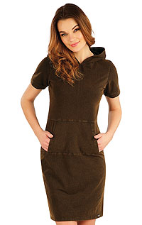Dresses and Skirts LITEX > Woman´s long dress with short sleeves.
