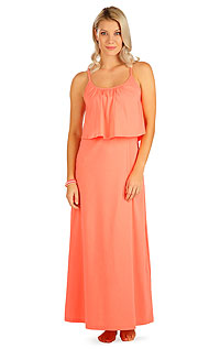 Dresses, skirts, tunics LITEX > Women´s long dress with ruffles.