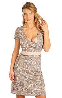 Litex Šaty dámské s krátkým rukávem. 5B136XL 0 - vel. XL viz. foto