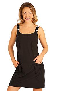 Litex Šaty sportovní na ramínka. 5B188S 901 - vel. S černá