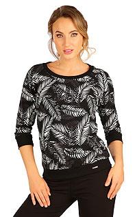 Sportswear LITEX > Women´s sweatshirt with 3/4 length sleeves.