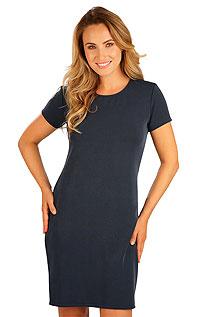 Litex Šaty dámské s krátkým rukávem. 5B239XL 514 - vel. XL tmavě modrá