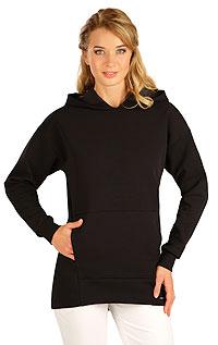 Litex Mikina dámská s kapucí. 5B267XL 901 - vel. XL černá