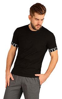Litex Triko pánské s krátkým rukávem. 5B295XL 901 - vel. XL černá