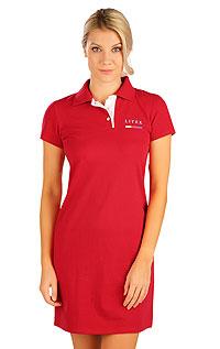 Litex Šaty dámské s krátkým rukávem. 5B300XL 307 - vel. XL červená