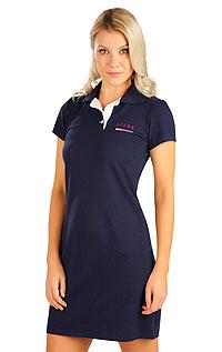 Litex Šaty dámské s krátkým rukávem. 5B302XL 514 - vel. XL tmavě modrá