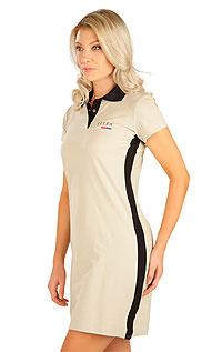 Litex Šaty dámské s krátkým rukávem. 5B305XL 401 - vel. XL béžová