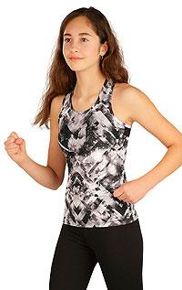 Kinder Sportkleidung LITEX > Kinder T-Shirt ohne Ärmel.