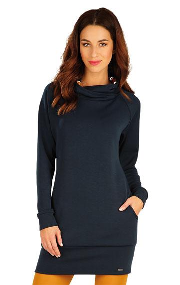 Mikinové šaty s dlouhým rukávem. | Šaty a sukně LITEX