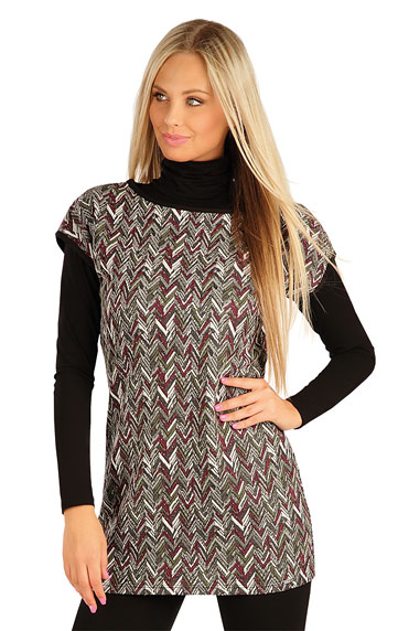 Women´s tunic with short sleeves. | Dresses and Skirts LITEX