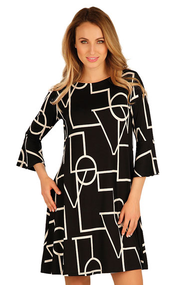 Women´s dress with 3/4 length sleeves. | Dresses and Skirts LITEX