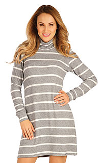Women´s dress with long sleeves. LITEX