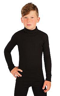 Litex Funkční termo rolák dětský. - vel. 164 černá