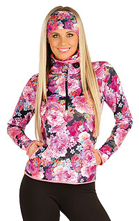 Hoodies, turtlenecks LITEX > Women´s jumper with stand up collar.