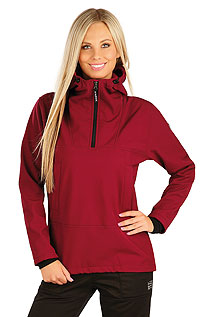 Jogging LITEX > Women´s softshell jacket with hood.
